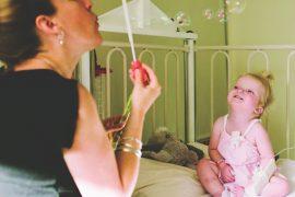 Mum Laura with Baby Charlotte