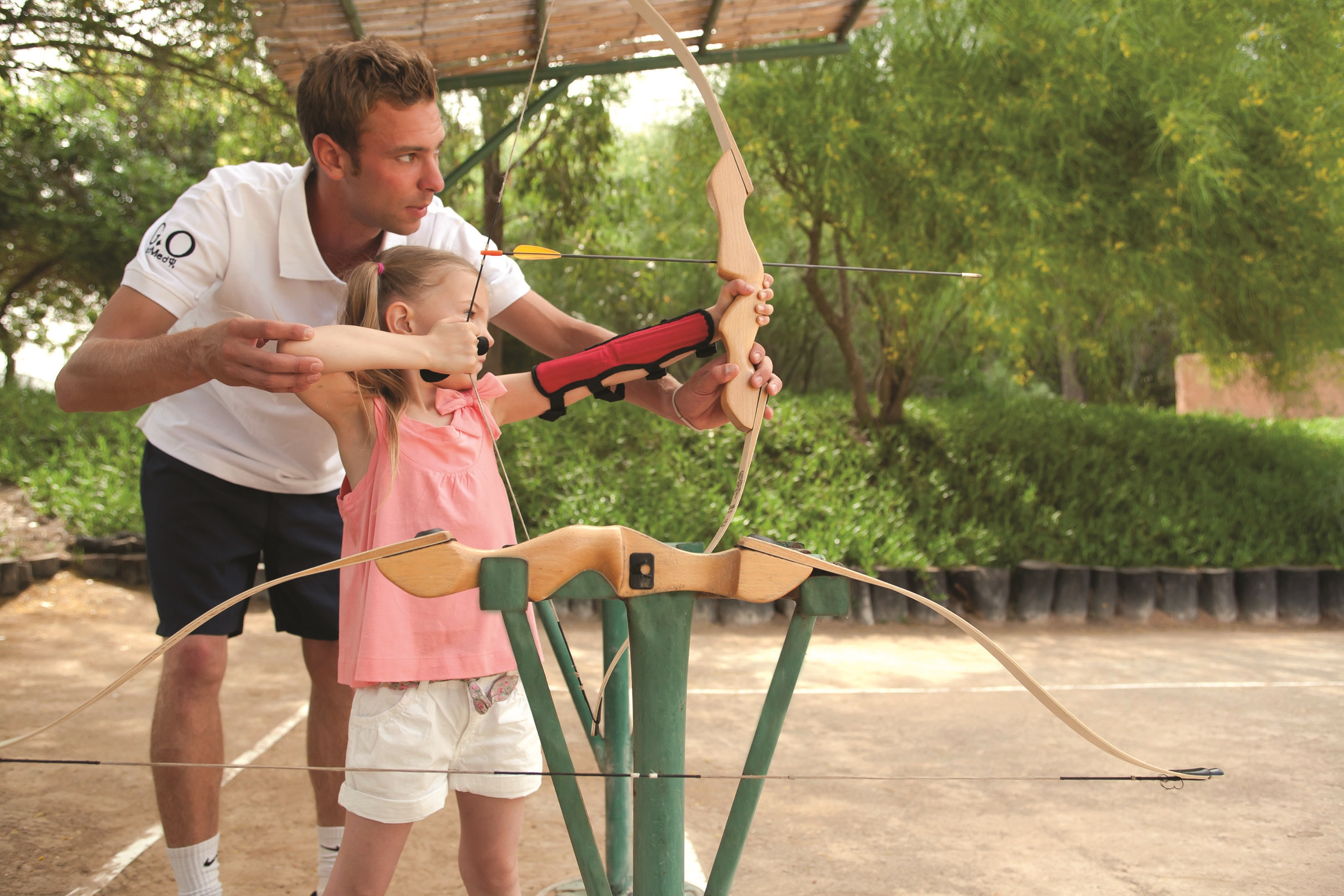 80-81 Offspring Club Med Kids archery class at Bali