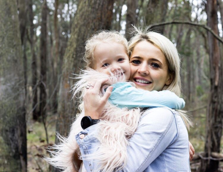 Melbourne mum influencers, mother with daughter
