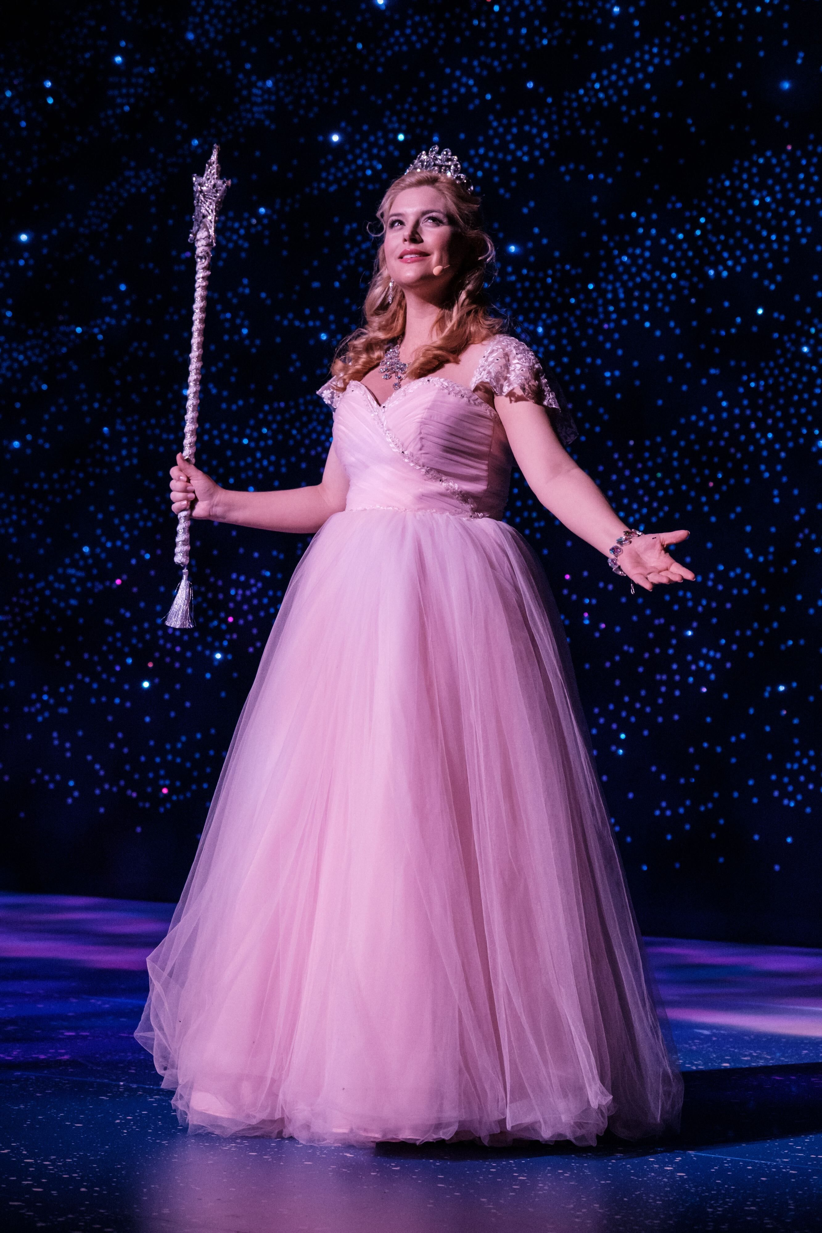 Lucy Durack Glinda the Good Witch in the musical Wicked