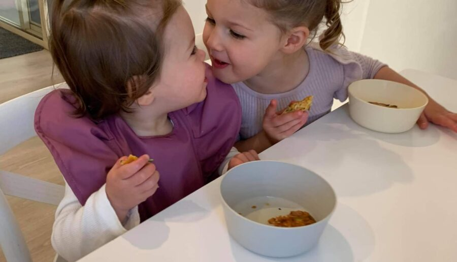 Zucchini slice to make the kids happy during lockdown
