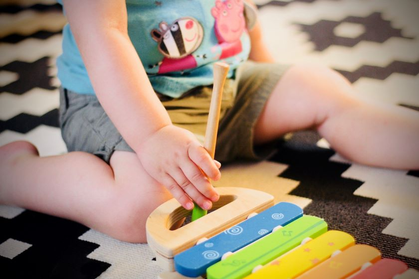 Music therapy can benefit children with autism.